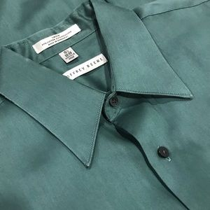 GEOFFREY BEENE L/S Wrinkle Free Shirt Green